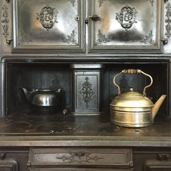 The kitchen at the Loring Greenough House
