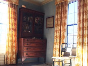 Period furniture on display - Loring-Greenough House Collection