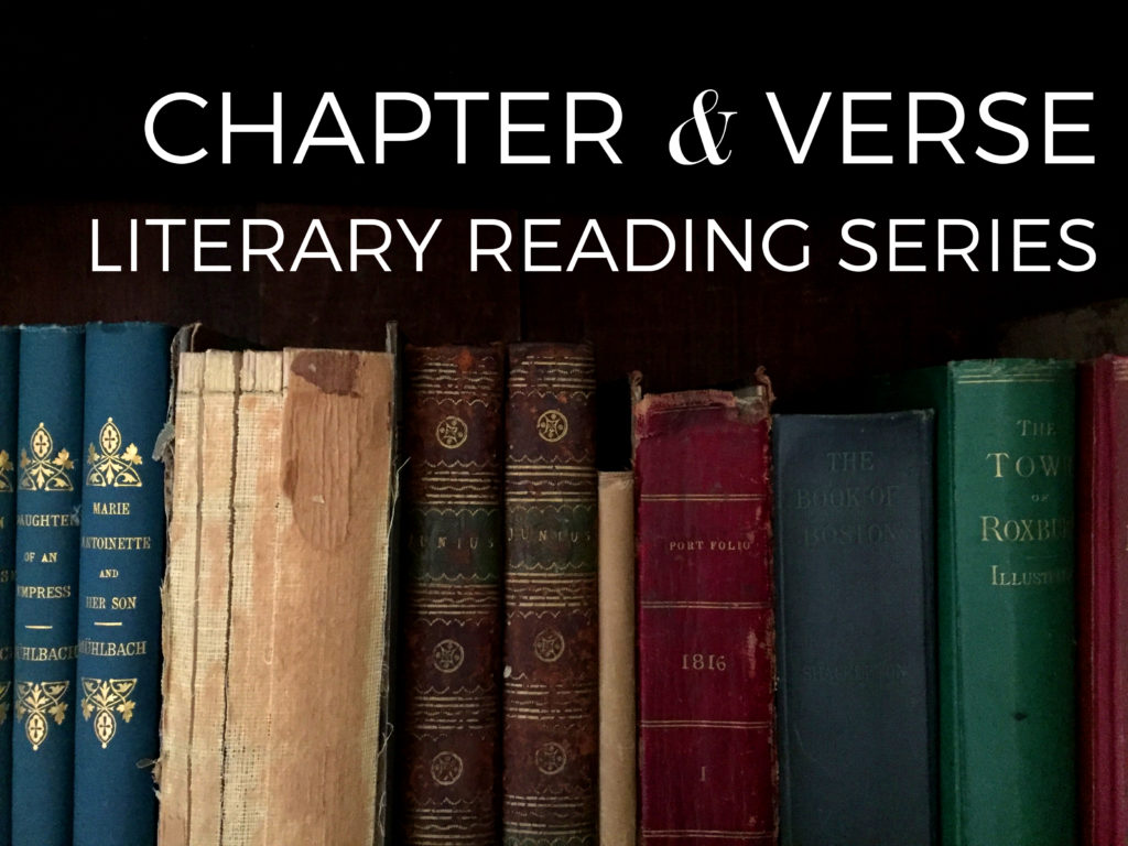 Chapter and Verse Literary Reading Series