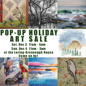 Pop Up Art Sale
