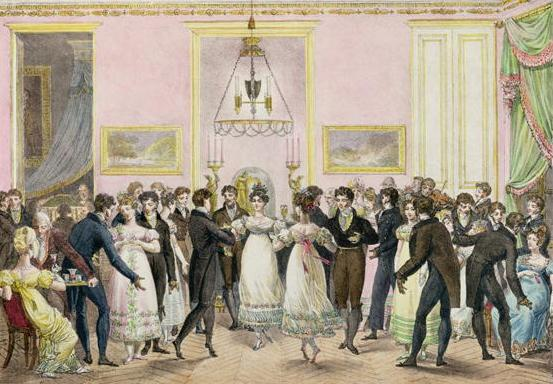 Party, Promenade, Pride and Prejudice