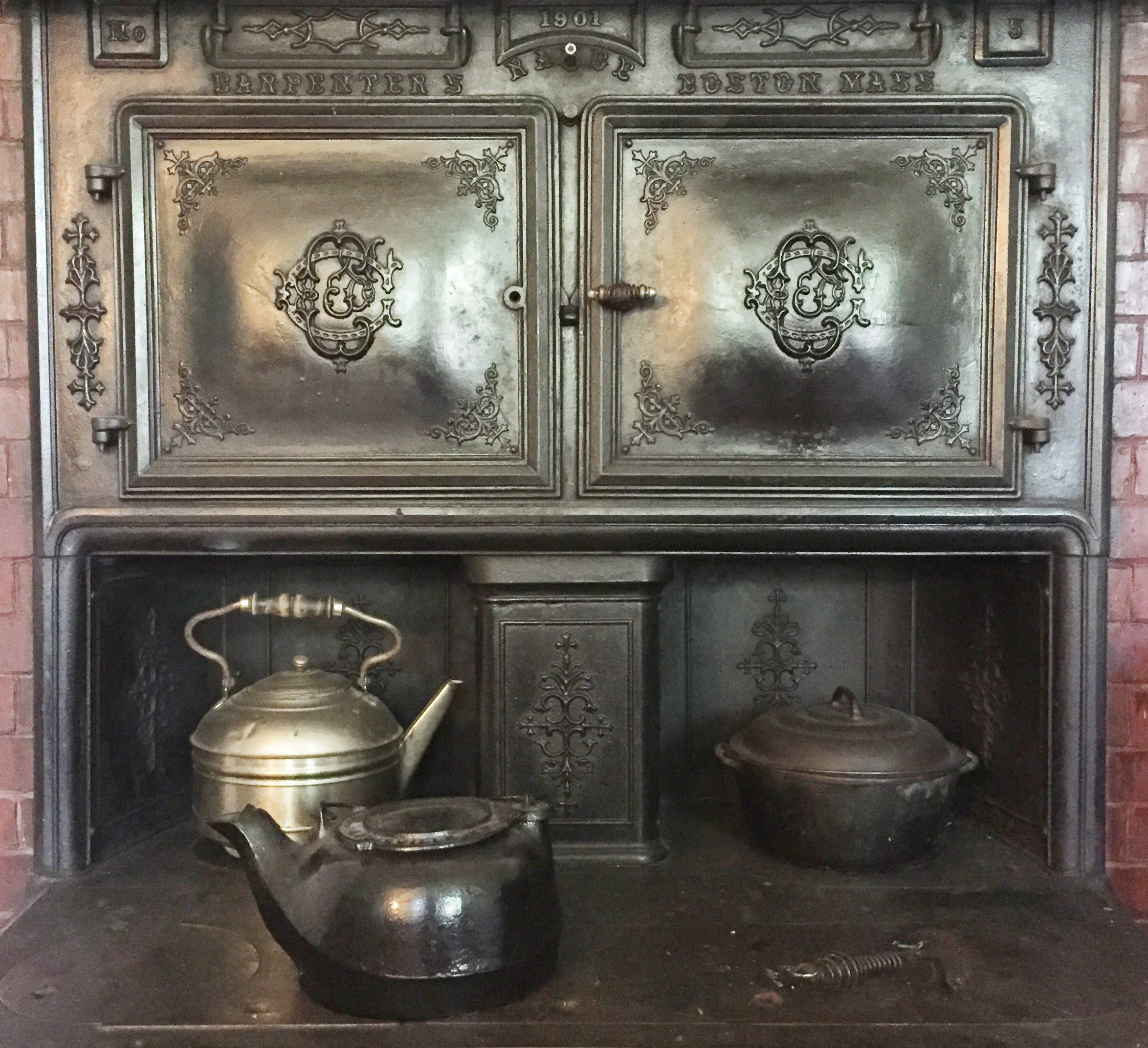 Exploring the LGH Kitchen – Our Coal-Burning Stove