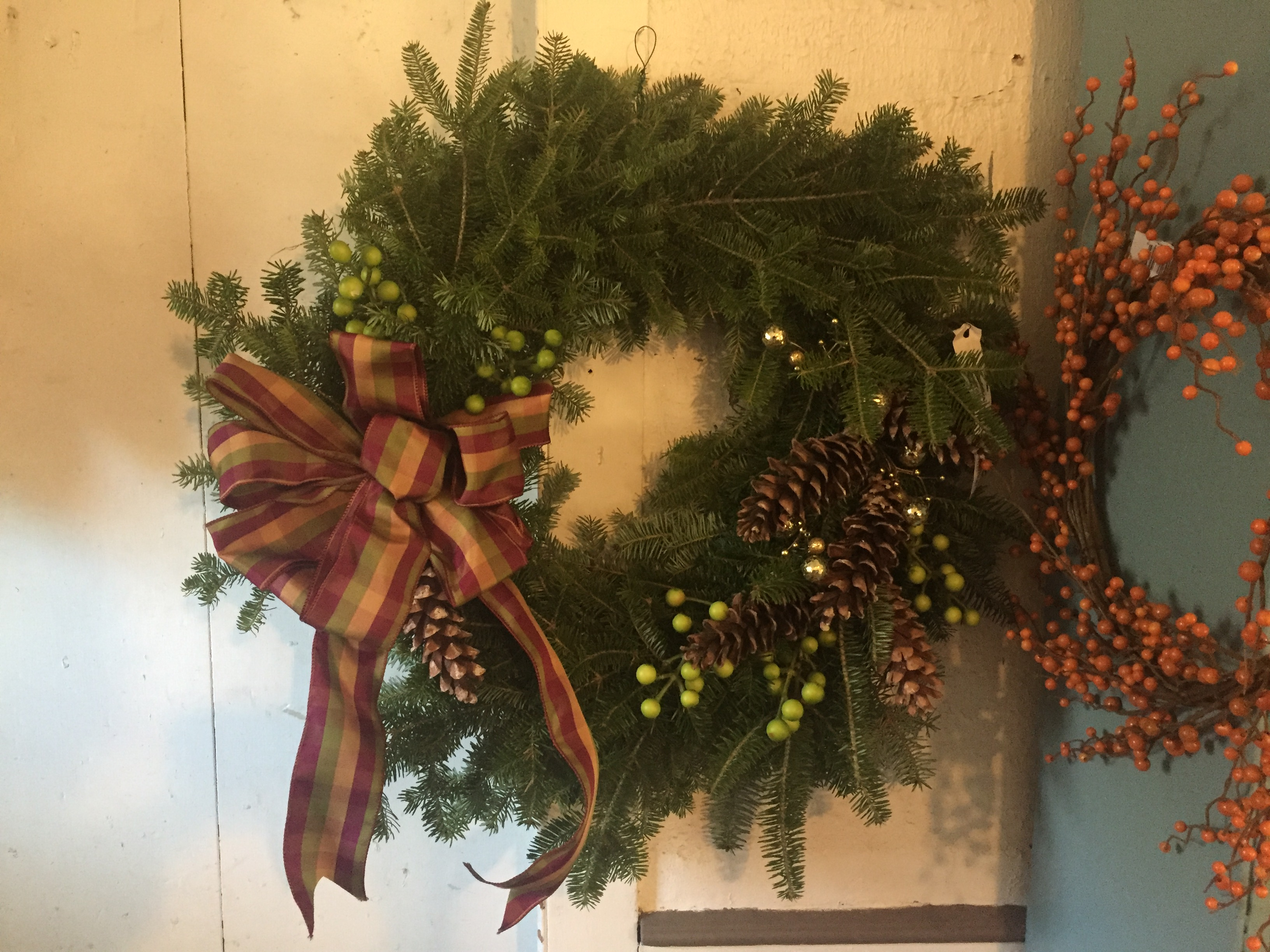 Loring Greenough House Wreath Fundraiser 2019