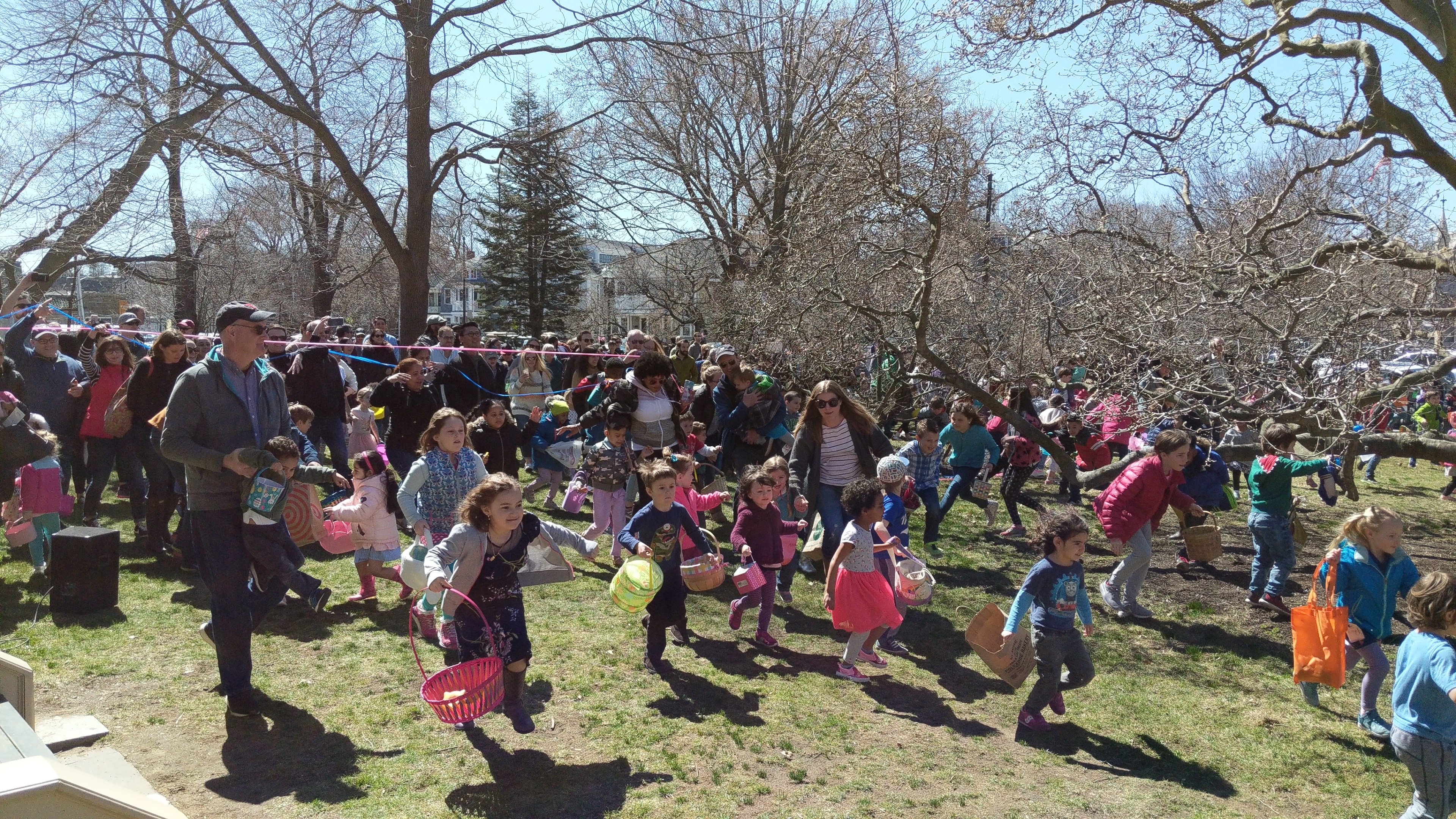 There will be no spring egg hunt at the Loring Greenough House