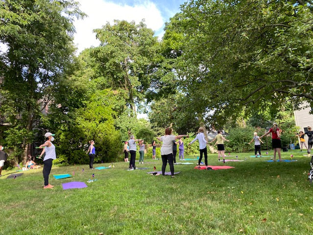 Get Movin' On The Lawn Outdoor Exercise Class Series