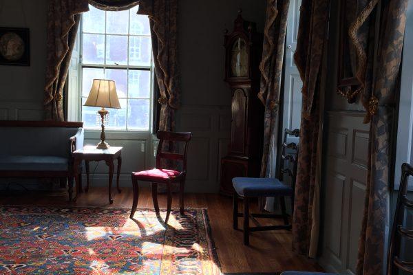 Parlor at the Loring Greenough House